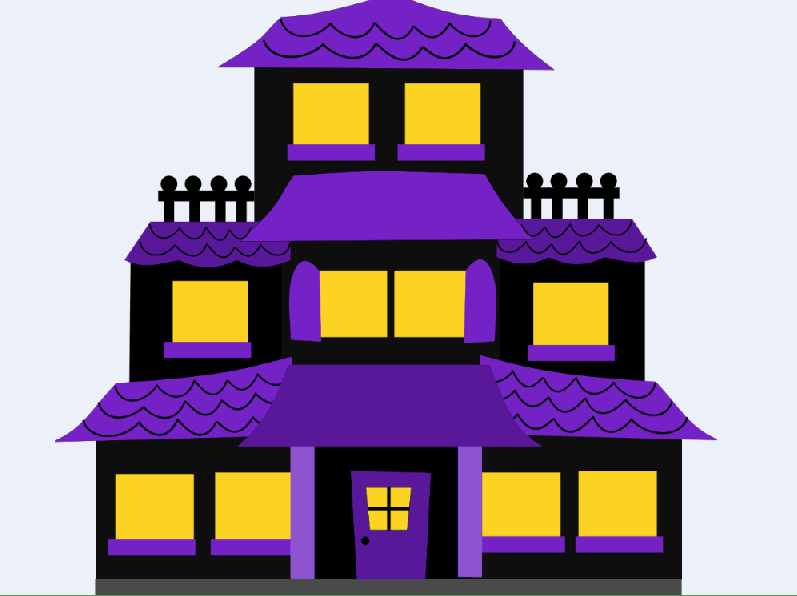 Old House clipart ghost house Holding to live and and