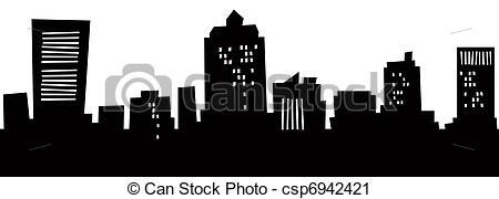 Haven clipart Clipart Cartoon Skyline csp6942421 of