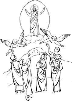 Haven clipart ascension 19 Ascension Jesus eu