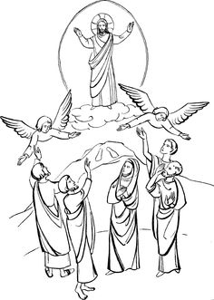 Heaven clipart ascension #10
