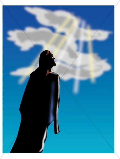Heaven clipart ascension day Take  place? Ascension the