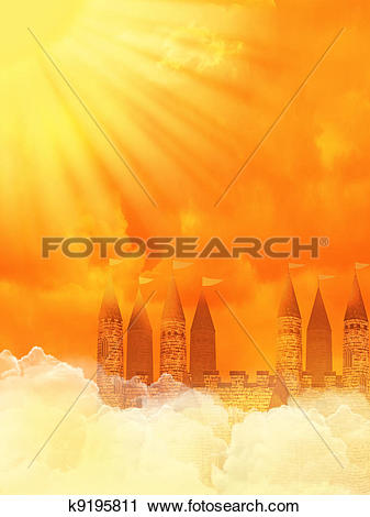Heaven clipart background image Heaven sky of collection Clipart