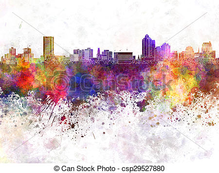 Haven clipart background image Haven Illustration watercolor New New