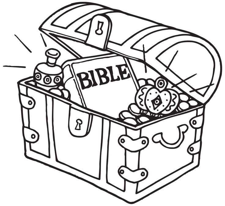 Heaven clipart colouring Treasure is Teachings on a