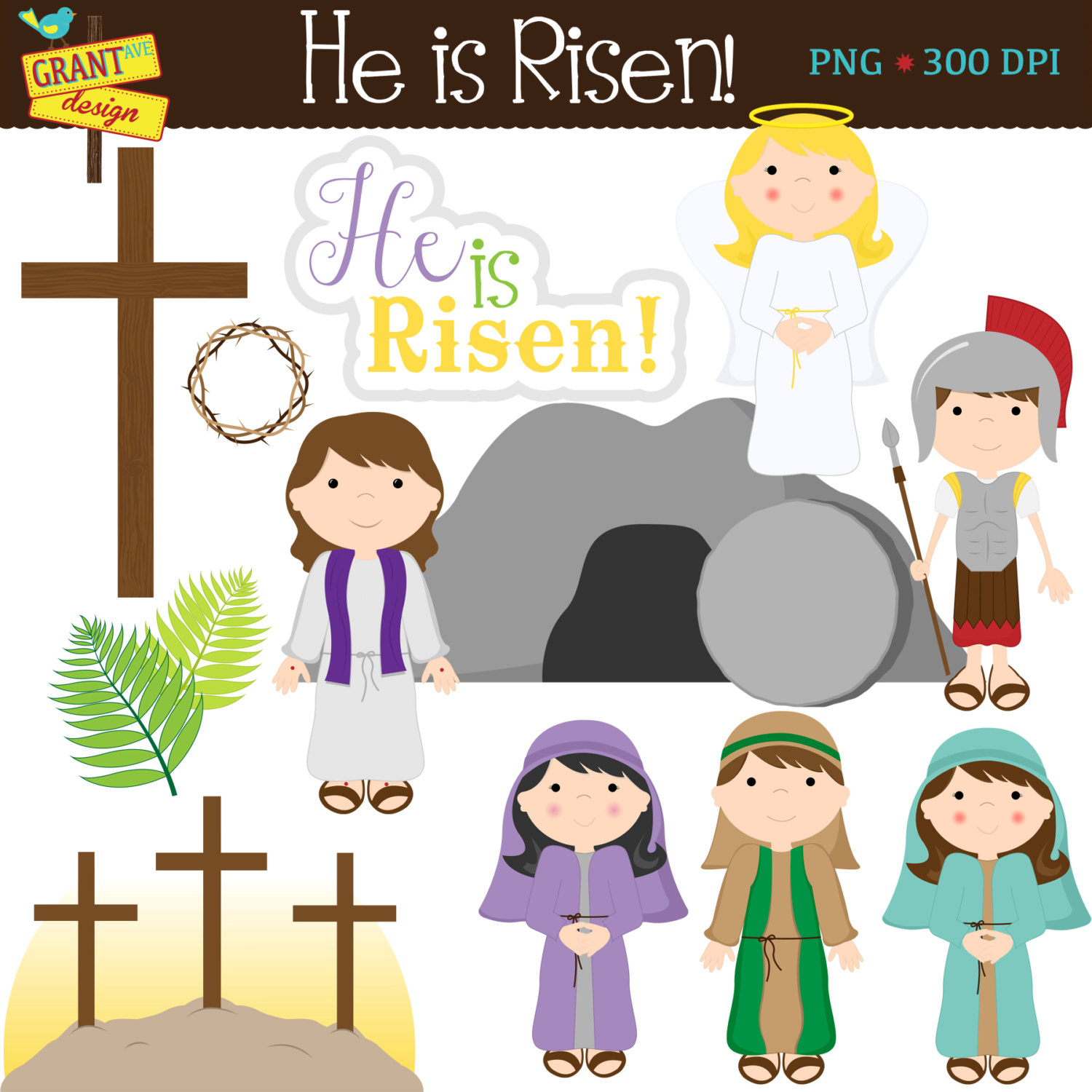 Haven clipart christianity Story Religious Digital Easter item?