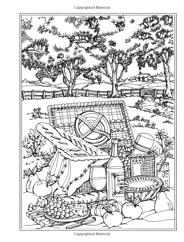 Haven clipart colouring Spring (Creative (Creative Book Scenes