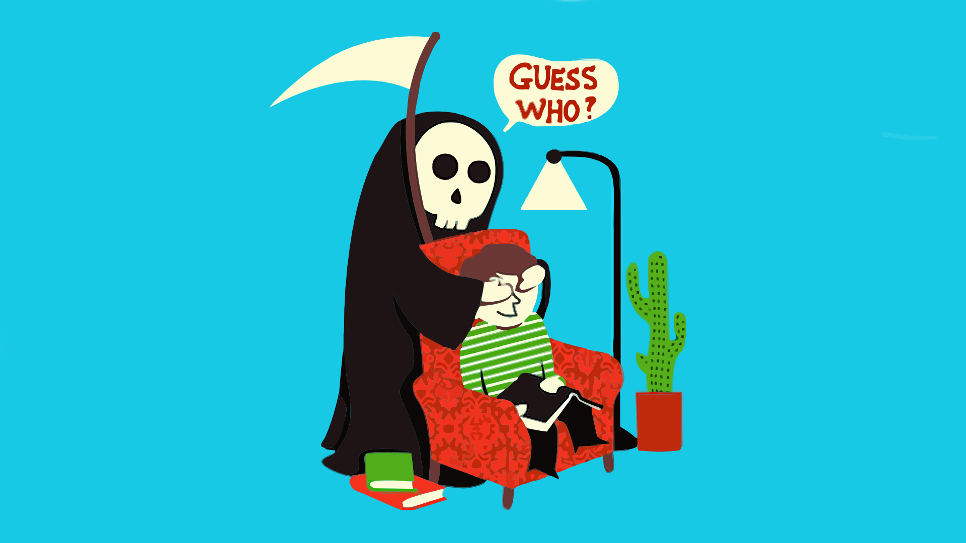 Haven clipart death #comics simple background #simple background