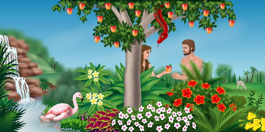 Garden Of Eden clipart bible Garden story garden of eden