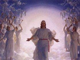 Haven clipart heavenly angel Heaven painting people jesus religion