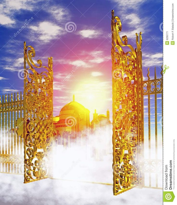 Haven clipart heaven's gate Images about on gate Pinterest