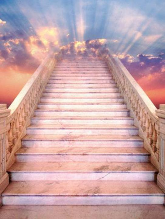 Haven clipart heaven's gate Outlines stairway Group to (44+)
