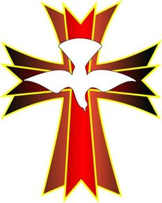 Red Flower clipart religious #7
