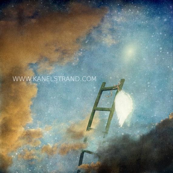 Haven clipart jacob's ladder Ladder wings art art Jacob's