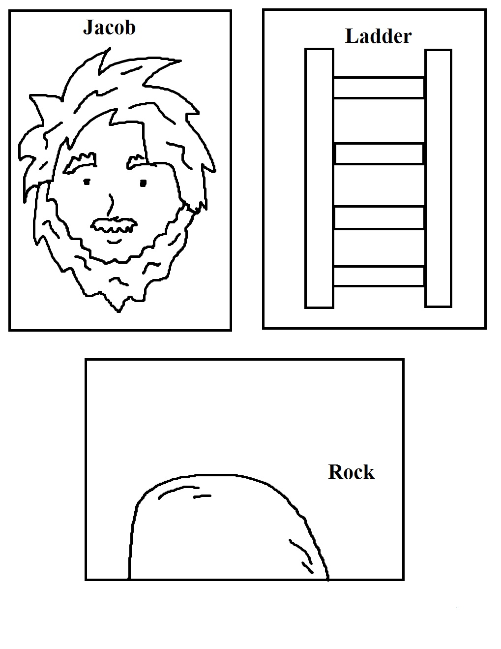 Haven clipart jacob's ladder Jacob's Lesson Jacob's Sunday Sheet