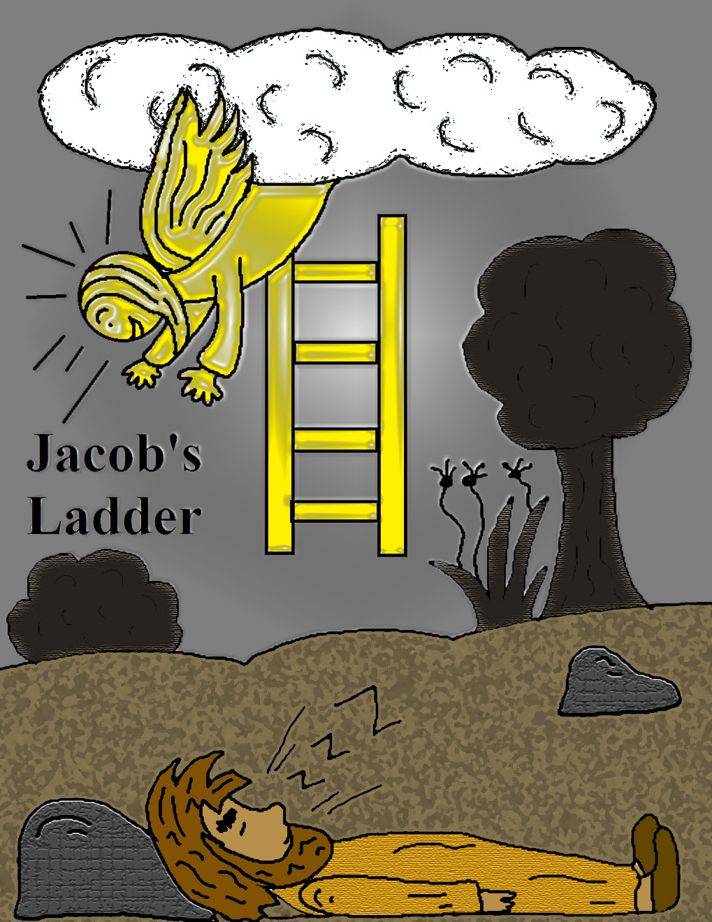 Haven clipart jacob's ladder Ladder X Jacob's Bible Telling