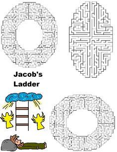 Haven clipart jacob's ladder Is com/vks  find craft/activity