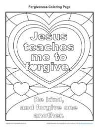 Haven clipart jesus forgiveness ♕ Teaches to Coloring