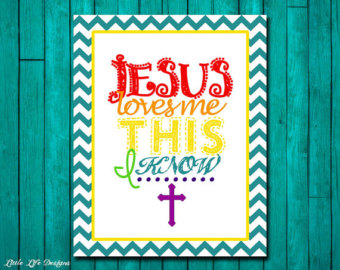 Haven clipart jesus me Wall Art loves me Etsy