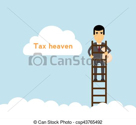 Haven clipart lader With sky money bag Tax
