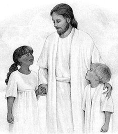 Haven clipart lds Ldsclipart the Jesus (187×270) children