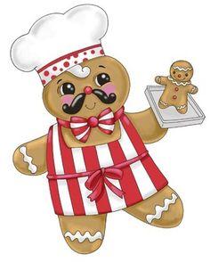 Haven clipart man Gingerbread Chef  Ronnie Ronnie