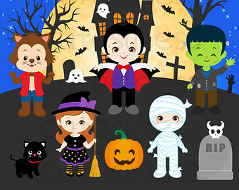 Haven clipart mansion Etsy clipart Clipart or Treat