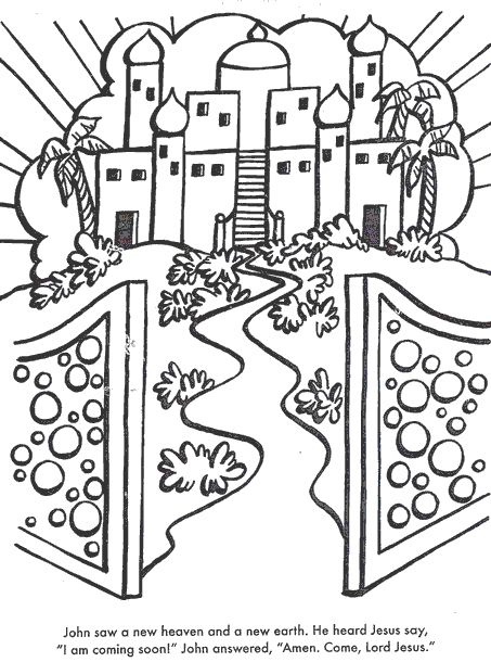 Haven clipart new earth PAGES Pinterest Heaven on COLORING