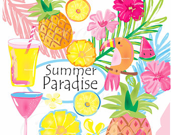Haven clipart paradise Art Summer clip art clip