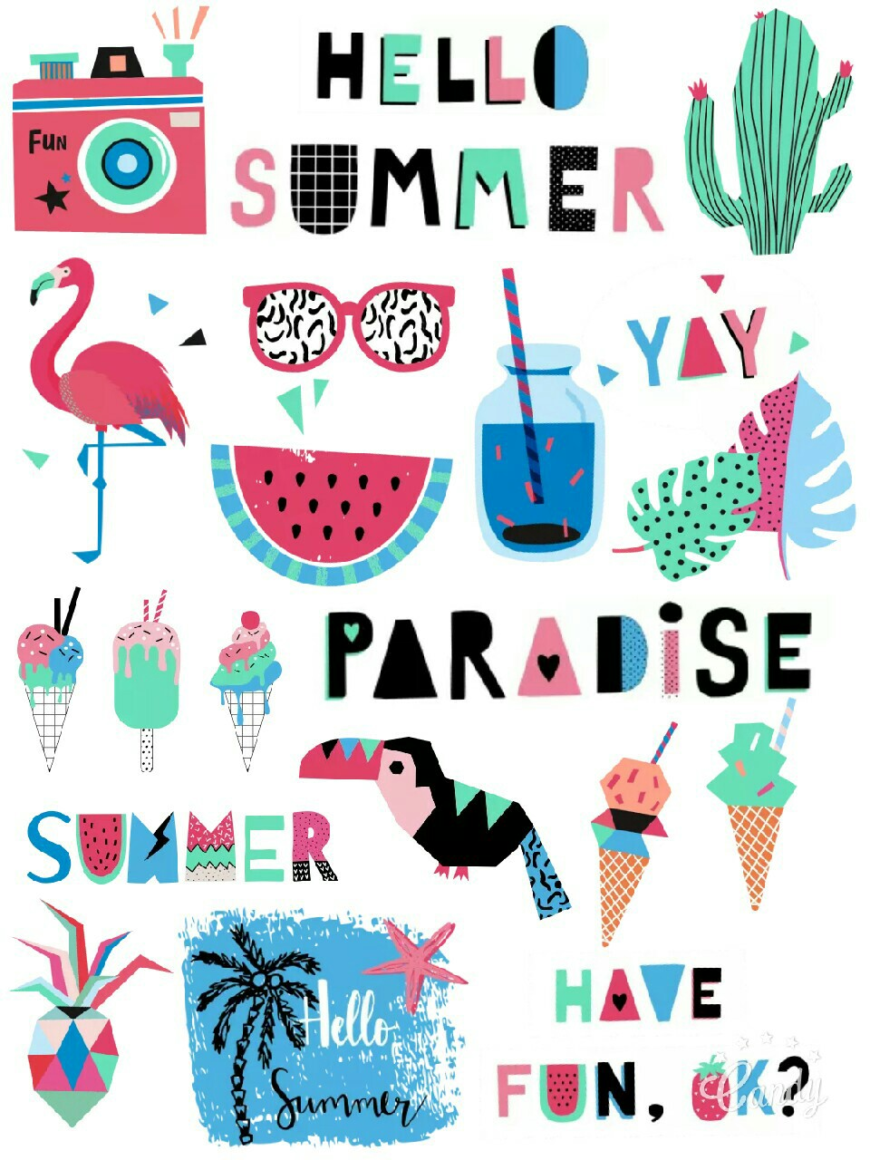 Haven clipart paradise Paradise Stickers Stickers Pinterest My