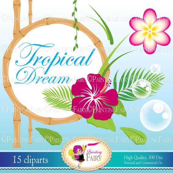 Haven clipart paradise Cute ClipArt tropical art Palm