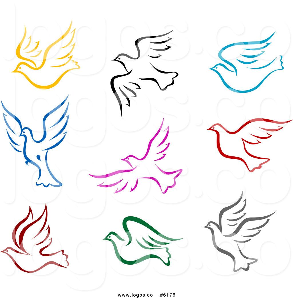 Peace clipart dove Royalty Peace  Vector Doves