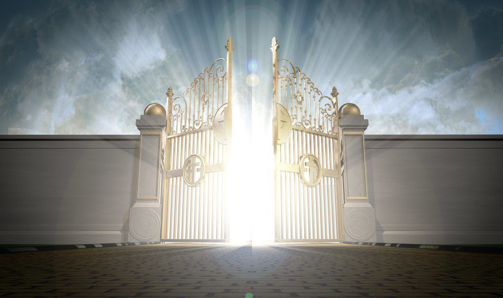 Heaven clipart pearly gates Of Entering Heaven Gates 1024x608jpg