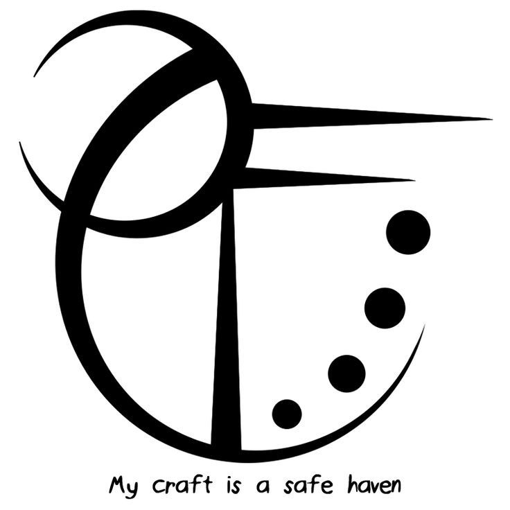 "Haven clipart spiritual Closed haven"" symbols craft sigil"