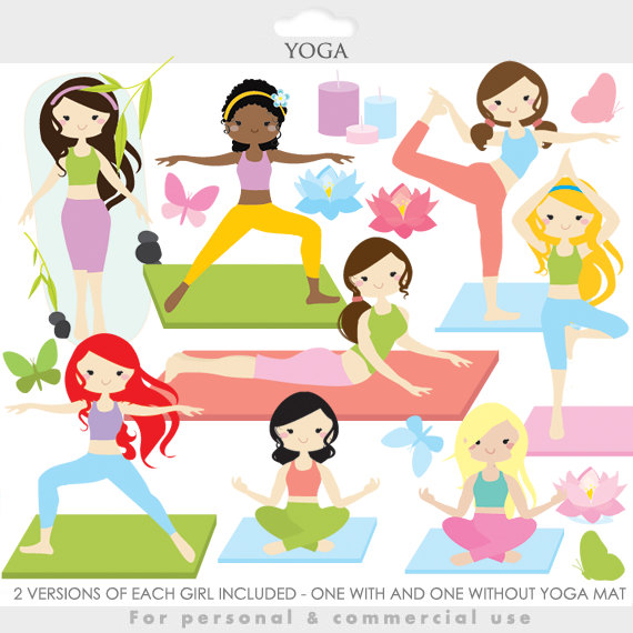 Haven clipart spiritual Meditation yoga clip girl Like