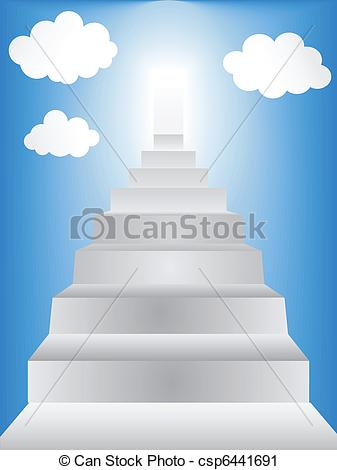Haven clipart staircase Art Images Clip Free Heaven