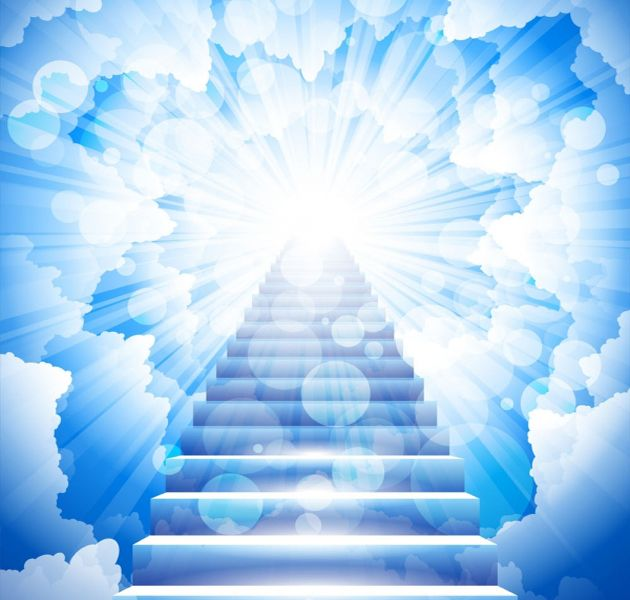 Heaven clipart background image Heaven Stairs Free on Heaven