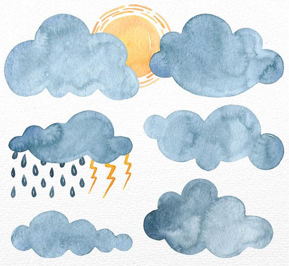 Haven clipart sun cloud Personal and Clipart Rain art
