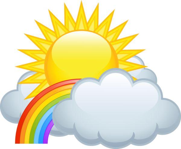Haven clipart sun cloud  ArtSunshineCloudRainbowsMornings Soleil ForgetMeNot: 25+