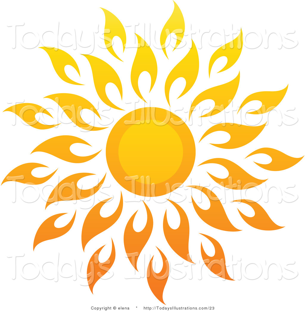 Inspirational clipart corner sun Sun a elena of Bright