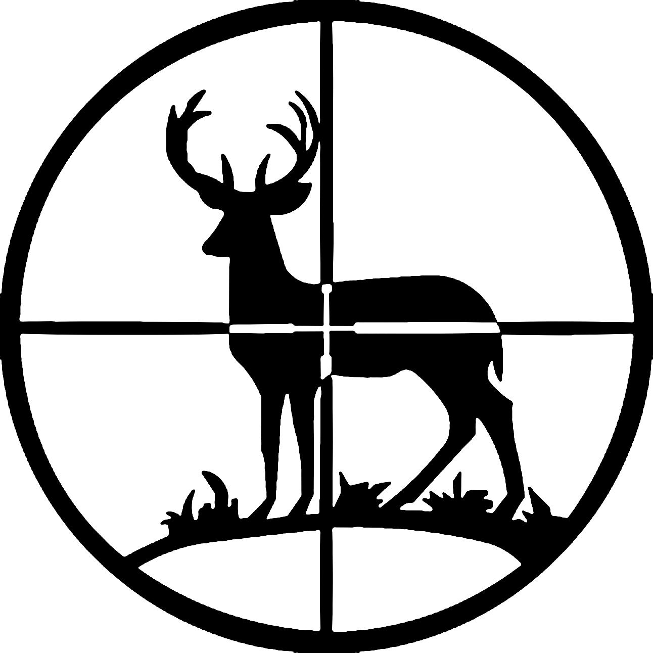 Buck clipart hunting Deer Clipart Gear Silhouette Silhouette