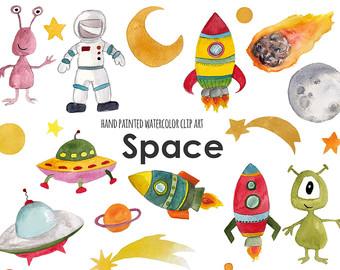 Haven clipart utopia Rocket boys aliens art clip