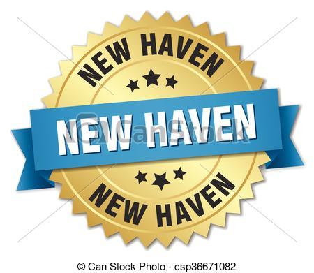 Haven clipart vector New blue  round round