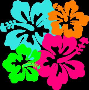 Pink Flower clipart hawaiian flower Hawaiian Hawaiian images Clipartix free