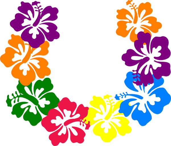Tropics clipart lei flower #3