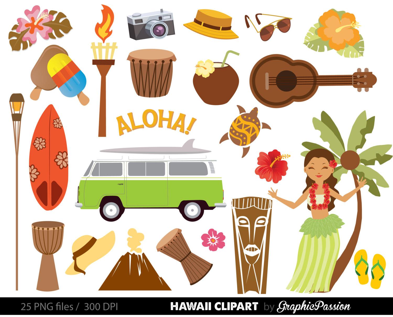 Sea clipart hawaiian beach #6