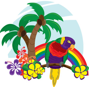 Tropical clipart hawaiian person #7