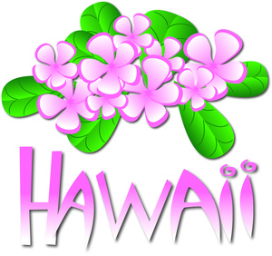 Blue Flower clipart hawaiian graphic Art Pictures Stock Clip Images