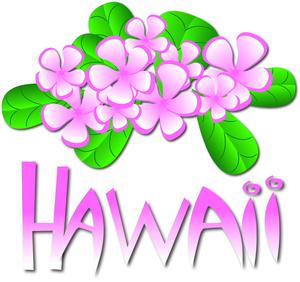 Plumeria clipart hawaiian flower Stock Hawaii Stock Hawaii Clip