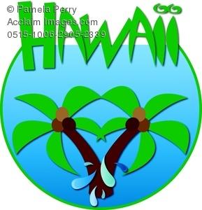 Hawaii clipart banner Art Hawaii – Art Clip