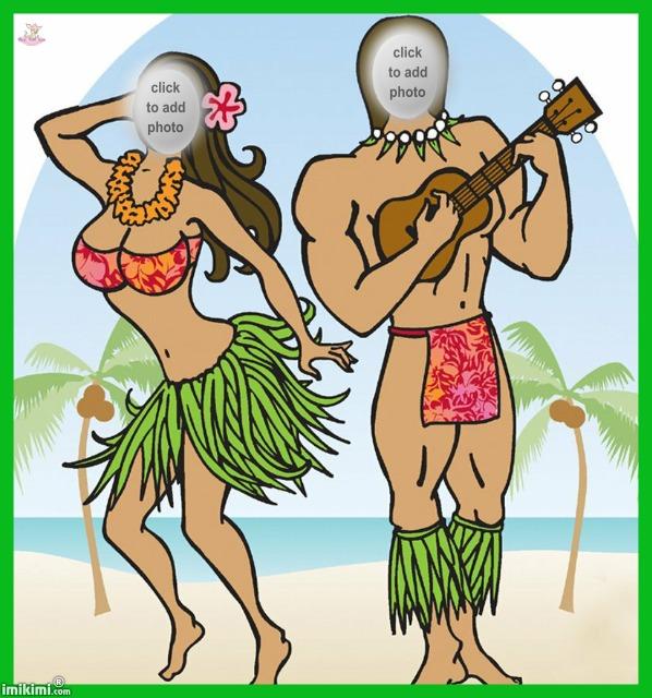 Hawaii clipart tiki god On Hawaiian cutouts imikimi